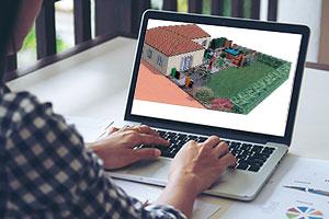 Conception de jardin par le bureau d'étude