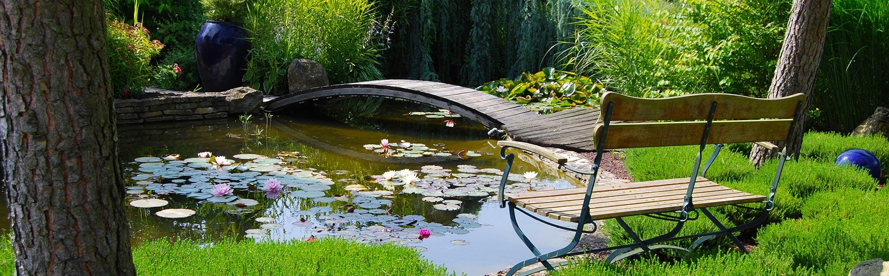 Visuel petit pont sur l'eau