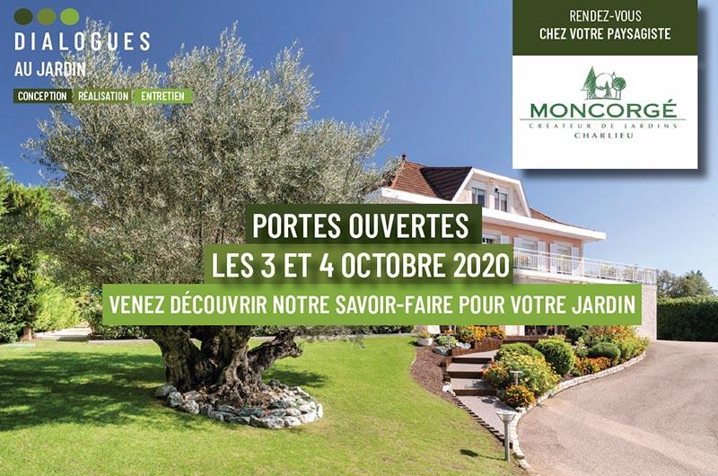 Programme journées portes ouvertes Moncorgé 3 et 4 10 2020